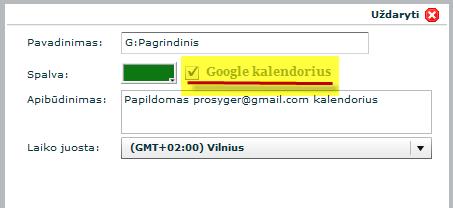 pradžia darbas su google)